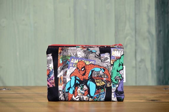 Spiderman Zipped Pouch