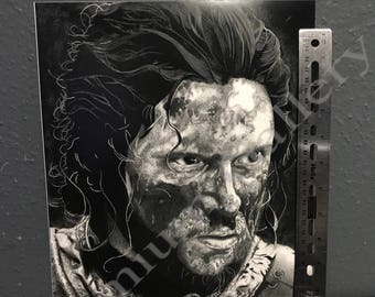 Game of Thrones Jon Snow Portrait