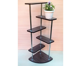 "Plant Stand ""Leon 2"" . Flower stand Indoor plant stands Plant holder Plant table Stand for flowers Flower shelf Shelf Corner shelf"