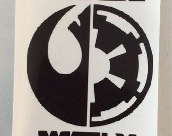 Star W theme vinyl