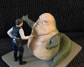 Han Solo Janna the Hut Star Wars statue