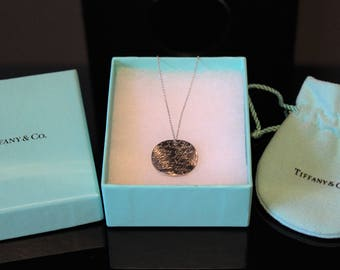 Tiffany & Co. Sterling Silver Notes Necklace