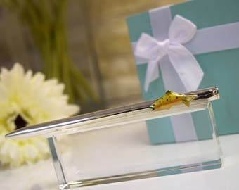 Tiffany & Co Sterling Silver Fish (Trout) Pen