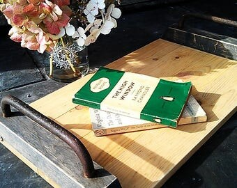 Reclaimed Pine Contemporary Rustic Tray