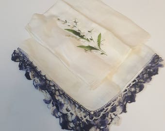 Lily Of The Valley Coordinating Handkerchief Set