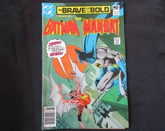 The Brave and The Bold #165 (Teams Up With Man-Bat) D.C. Comics 1980