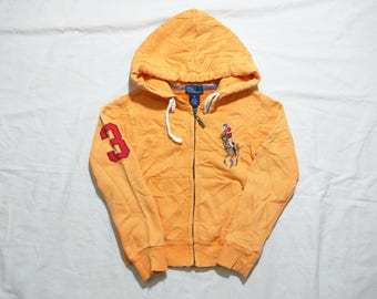 Vintage 90s Polo Ralph Lauren Hoodie for kid