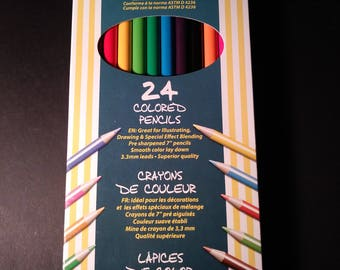 24 count Colored Pencils