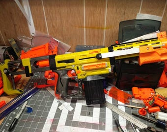 Modified Nerf Blaster: Recon MK1.5 DX