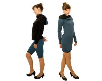 4inONE ORIGINAL SWEATER dress blue