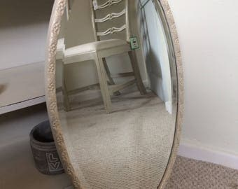 Beautiful vintage oval mirror