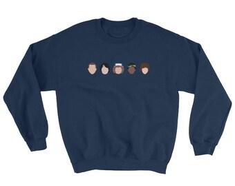 Stranger Things Sweatshirt - Friends - Eleven - Mike - Dustin - Lucas - Will -  Sweatshirt - Stranger Things - The Upside Down - Sweater