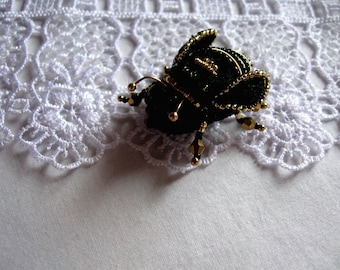 brooch insect Bumble bee brooch Bee pin - embroidered brooch Bee brooch, bumblebee pin, Honey bee brooch, bumblebee brooch,  Gold bee brooch