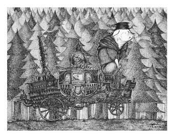 Riding in dark forest 02/30