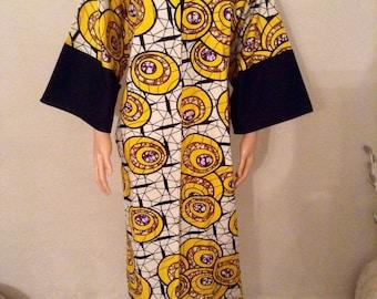 Jacket Kimono coat cotton WAX cetifie.,.