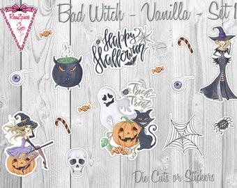 Witch Mischief - Die Cut / Sticker Sets