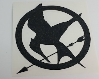 Hunger Games Mockingjay Vinyl Decal
