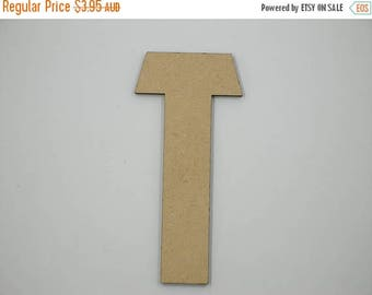 20% OFF 15cm MDF Wood Wooden Letters 3mm Thick CAP