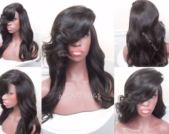 Wig Making Service | Human Hair Wigs | Get a Custom Wig Unit Made | All Styles | Lace Front Wig, Lace Closure Wig, 360 Frontal Wig