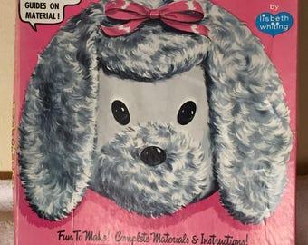 Petey the Pajama Bag Poodle craft kit