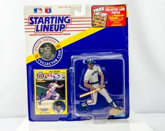 Starting Lineup 1991 Cecil Fielder Action Figure Detroit Tigers