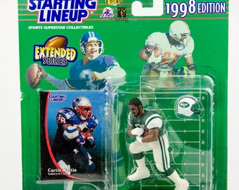 Starting Lineup 1998 NFL New York Jets Curtis Martin Action Figure
