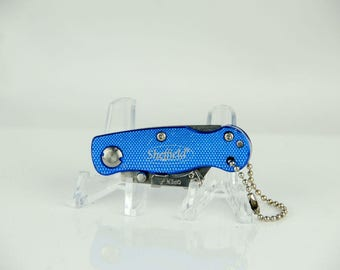 Sheffield Mini Key Chain Locking Back Folding Knife