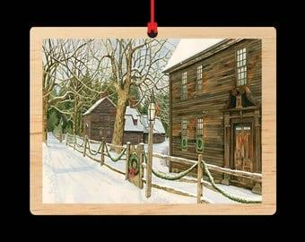 Deerfield || Christmas Ornament