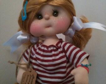 Rag doll totally handmade, unique and original