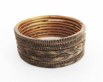 Handmade Indian Clay Bracelets
