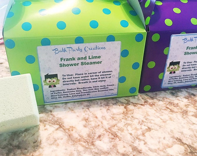 Best Selling Jumbo Shower Steamers NEW Sleepy Time French Lavender,  Frank and Lime, Wake Me Up and Sinus-Allergy Ease