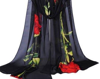 Red rose hijab