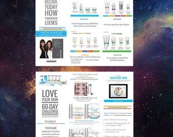 Rodan + Fields Brochure Design