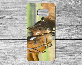 Beautiful Horses TPU Case For Samsung Galaxy S6, S7, S8 (S2027)