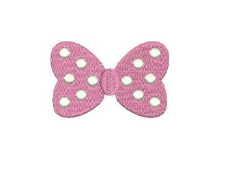 Girl Bow Embroidery Fill Design Machine Embroidery Instant Download Digital File EN2060AF