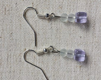 Dangle Earrings//Lightweight//Glass Beads//Gifts
