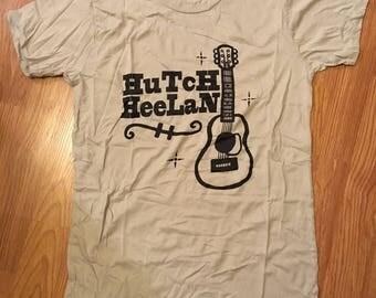 LADIES XL T-SHIRT Hutch Heelan Guitar