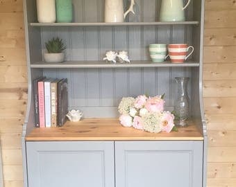 Gorgeous Grey Welsh Dresser - Farmhouse - Country - Farrow & Ball