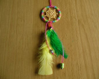 Mini colorful dream catcher