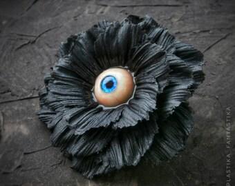 Eye flower Brooch Pendant
