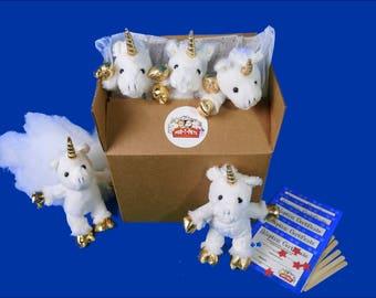 Unicorn White 5 Par-T-Pak teddy bear making