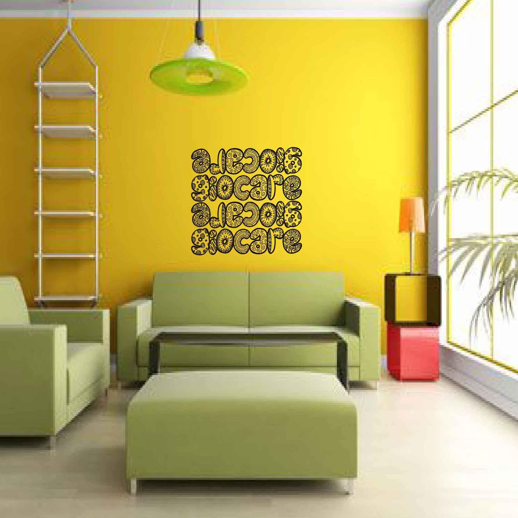 Giocare - Wall sticker, wall decor, wall art, door sticker, glass ...