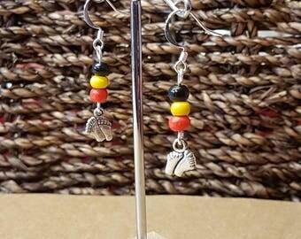 Aboriginal Walk about Earrings