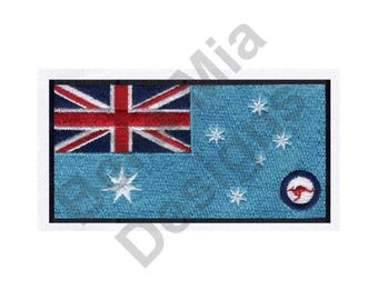 Australia Air Force - Machine Embroidery Design