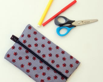 flat school pencil case