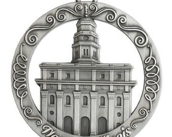 Nauvoo Illinois LDS Temple Ornament