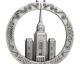 Brigham City Utah LDS Temple Ornament - LDS Gifts