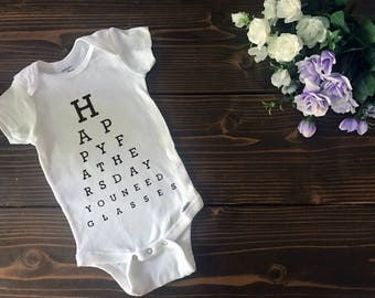 Happy Father's Day You Need Glasses | Custom T Shirt | Create Your Own T Shirt | Custom Sayings | Graphic Tees | T Shirts | Slogan T Shirt