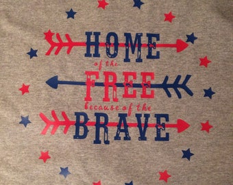 Home of the Free because of the Brave!