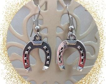 Iron Horse earrings